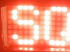 LED matrix sign